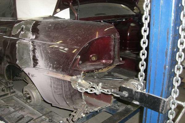 Восстановление геометрии кузова